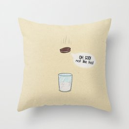 a biscuit's journey Throw Pillow