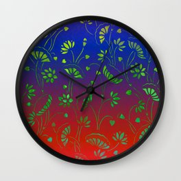 Lillypond-3 Wall Clock