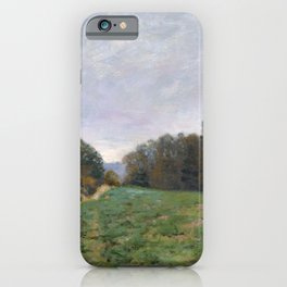Alfred Sisley - Landscape at Louveciennes (1873) iPhone Case
