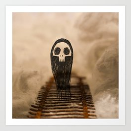 A Grim Journey Art Print