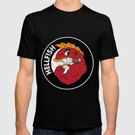 Flying Hellfish T-shirt