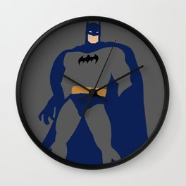 Bruce Wayne Wall Clock