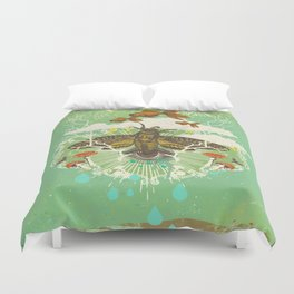 EVENING PSYCHEDELIA Duvet Cover