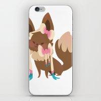 sylveon iPhone & iPod Skins featuring Sylveon by Dani Tea