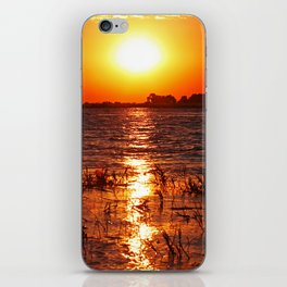 When the day ends iPhone Skin