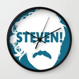 STEVEN! Wall Clock
