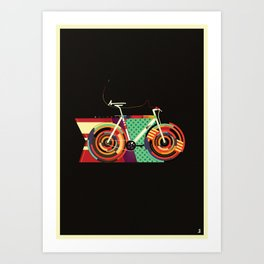 Gamma Bike Art Print