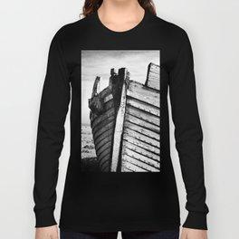 An old wreck Long Sleeve T-shirt
