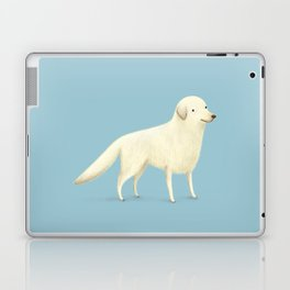 Golden Retriever Portrait Laptop & iPad Skin