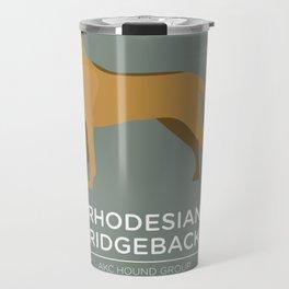 Rhodesian Ridgeback Travel Mug