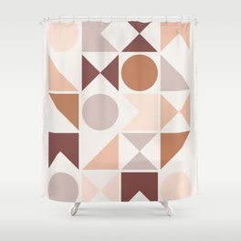 Modern Geometric 26 Shower Curtain