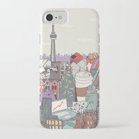 toronto iPhone & iPod Cases featuring Toronto by Ashley Ross