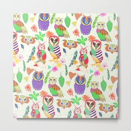Owl always love Owls Metal Print