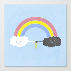 rain bros Canvas Print