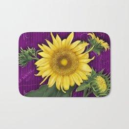Sunflowers Bath Mat