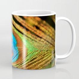 Peacock Feather, Photography Art Print Coffee Mug
