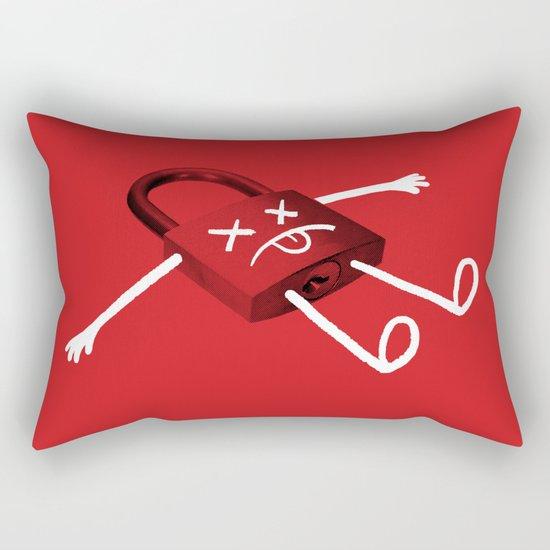 The Deadlock Rectangular Pillow