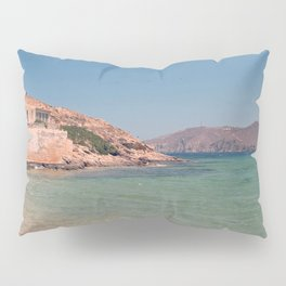 A Greek Beach Pillow Sham