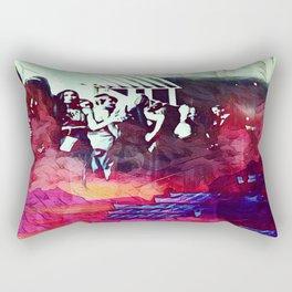 A Somber Affair Rectangular Pillow