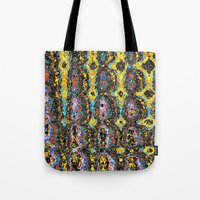 mod Tote Bags featuring Mod by Stephen Linhart