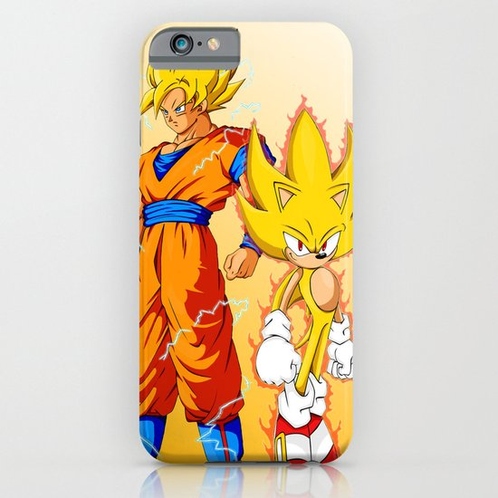 Super Sonic Warriors Z iPhone & iPod Case