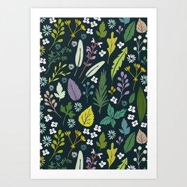 Herbal dream Art Print