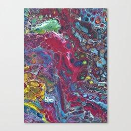 Fluid Art 12 Canvas Print