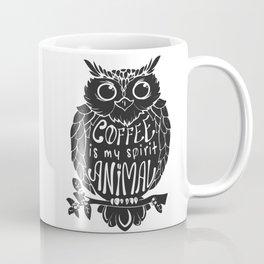 Coffee is My Spirit Animal - Owl Coffee Mug