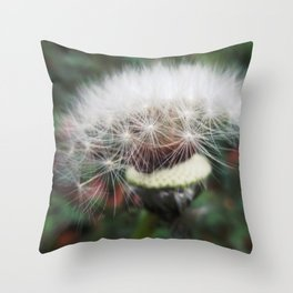 Dreamy Dandelion Throw Pillow