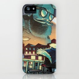Hipster Invader Forthcoming iPhone Case