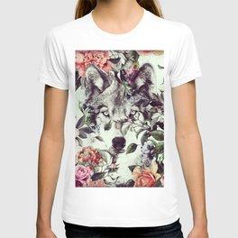Floral Wolf T-shirt