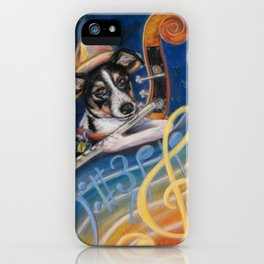Jazz to the Bone iPhone Case