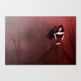 Crimson Woods Canvas Print