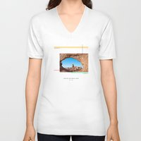 parks V-neck T-shirts featuring National Parks: Arches by Roadtrippers