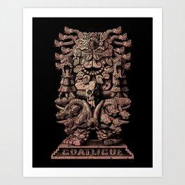 Coatlicue Art Print