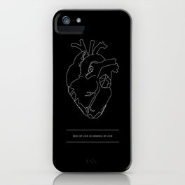 Need/Absence iPhone Case