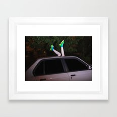 I've been waiting for you the whole week. It's time to play Framed Art Print