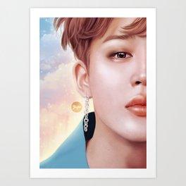 Sunlight - Jimin Art Print