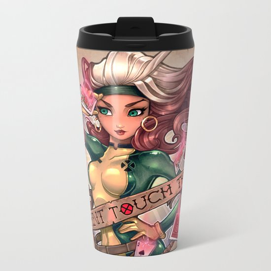 CAN'T TOUCH THIS Metal Travel Mug