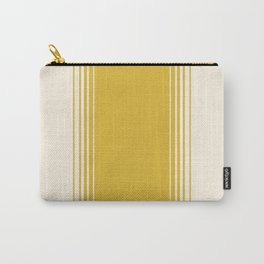 Marigold & Crème Vertical Gradient Carry-All Pouch
