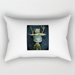 a portrait Rectangular Pillow