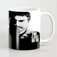 the last of us Mugs featuring The Last of Us  by Black And White Store