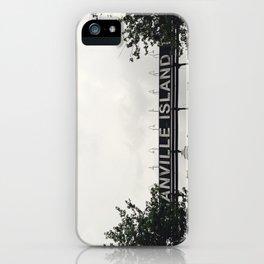 Granville Island Series   No. 2 iPhone Case