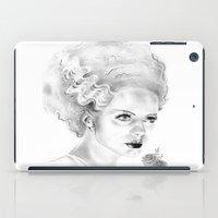 bride iPad Cases featuring Bride by Leyla Buk