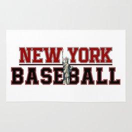 Baseball In New York Rug
