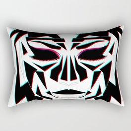 Ancient Face Rectangular Pillow