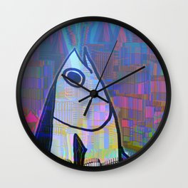 Tuna in Atlantis 31-07-16 Wall Clock