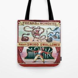 Freaks And Wonders Tote Bag