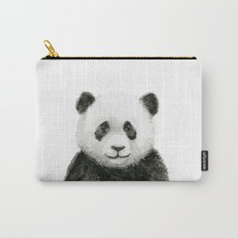 Baby Panda Whimsical Animal Watercolor Cute Baby Animals Carry-All Pouch