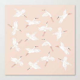 Crane Dance Canvas Print
